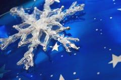 Blauwe Kerstmis Royalty-vrije Stock Fotografie