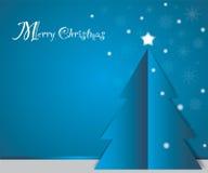 Blauwe Kerstmis Stock Afbeeldingen