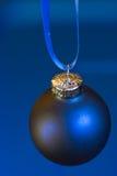 Blauwe Kerstmis Stock Afbeelding