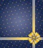 Blauwe Kerstmisachtergrond Stock Foto's