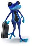 Blauwe kikker Royalty-vrije Stock Foto
