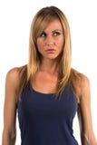 Blauwe kleding Stock Fotografie