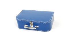 Blauwe koffer Royalty-vrije Stock Fotografie