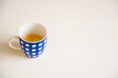 Blauwe Kop van Koffie Royalty-vrije Stock Afbeelding