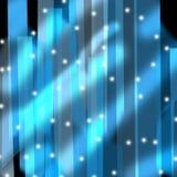Blauwe kristalachtergrond Stock Foto's