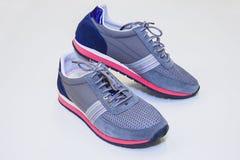 Blauwe laarzen 3/4 van de vrouwensport Stock Afbeelding