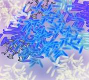 Blauwe lactobacillus als achtergrond, prebiotic bifidobacteria, probiotic, Infographics Vectorillustratie op geïsoleerd stock illustratie