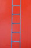 Blauwe ladder Stock Foto's