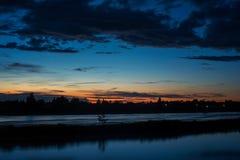 Blauwe lagune Stock Fotografie