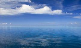 Blauwe lagune Stock Afbeeldingen
