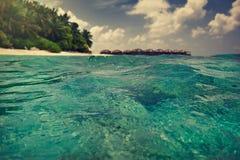 Blauwe lagune Stock Foto's