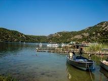 Blauwe lagune olu-deniz Turkije Stock Afbeelding