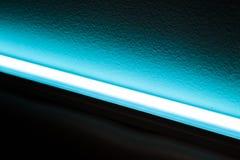 Blauwe LEIDENE Lichtbron Stock Fotografie