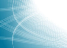 Blauwe lichte abstracte digitaal stock illustratie