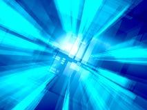 Blauwe lichte achtergrond stock illustratie
