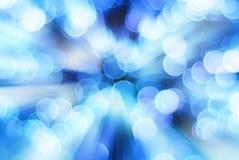Blauwe lichte achtergrond Stock Foto's