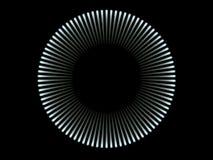 Blauwe lichte cirkel Royalty-vrije Stock Afbeeldingen