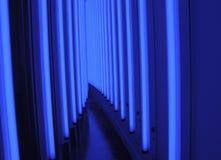 Blauwe Lichte Gang Royalty-vrije Stock Foto
