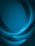 Blauwe lichte golfachtergrond. EPS 8 Stock Afbeelding