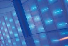 Blauwe lichte samenvatting Stock Foto