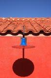 Blauwe lichte verticaal Stock Foto's