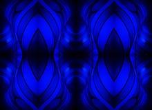 Blauwe Lichten van de Muren royalty-vrije stock afbeeldingen