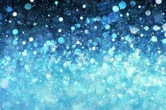 Blauwe lichtenachtergrond Royalty-vrije Stock Foto's