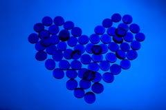 Blauwe liefde Royalty-vrije Stock Foto's