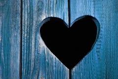 Blauwe Liefde Stock Afbeelding