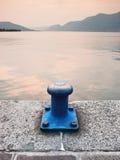 Blauwe ligplaats Stock Foto's