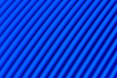 Blauwe lijnen Stock Fotografie