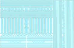 Blauwe Lijnen Abstracte Achtergrond Royalty-vrije Stock Afbeeldingen