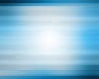 Blauwe lijnenachtergrond Stock Foto