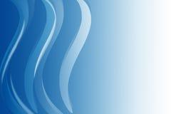 Blauwe lijnenachtergrond royalty-vrije stock afbeelding