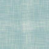 Blauwe linnen naadloze textuur Royalty-vrije Stock Fotografie