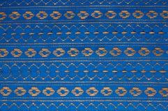 Blauwe lintachtergrond Royalty-vrije Stock Foto