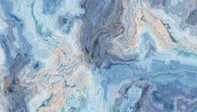 Blauwe marmeren achtergrond vector illustratie