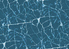 Blauwe marmeren textuur Royalty-vrije Stock Afbeelding