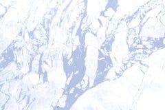 Blauwe marmeren textuur Stock Afbeelding