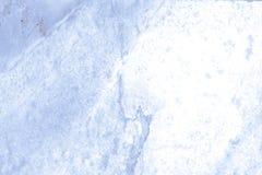 Blauwe marmeren textuur Stock Afbeeldingen