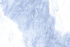 Blauwe marmeren textuur Stock Fotografie