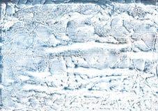 Blauwe marmeren waterverftextuur stock afbeeldingen