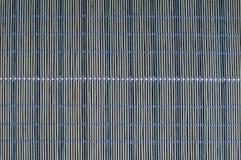 Blauwe mat royalty-vrije stock afbeelding