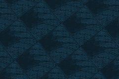 Blauwe Materiële stoffering Stock Afbeeldingen