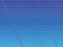 Blauwe matrijs vector illustratie