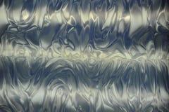 Blauwe Metaalgolven Stock Foto