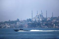 Blauwe moskee Royalty-vrije Stock Fotografie