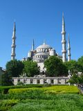 Blauwe Moskee Royalty-vrije Stock Afbeelding