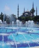 Blauwe moskee Stock Foto's