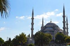 Blauwe moskee Royalty-vrije Stock Afbeeldingen